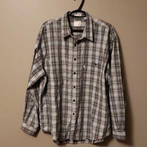 Levi's Silver Label Plaid shirt size XL